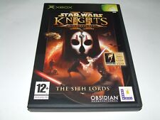 STAR WARS: KNIGHTS OF THE OLD REPUBLIC II XBOX ORIGINAL(PAL)VERY GOOD CONDITION