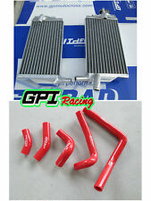aluminum Radiator+RED hose FOR Honda CR250R CR250 CR 250R 2002-2004 2002 2003