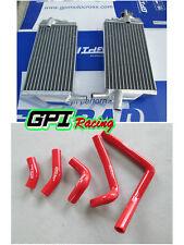 aluminum Radiator and hose FOR Honda CR250R CR250 CR 250R 2002-2004 2003 02 03