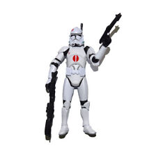 "Star Wars Legacy Clone Trooper Red Dot Revenge of The Sith 3.75"" Loose Figure"