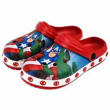 Marvel® Avenger Kids Boys Sandals Pool Beach Slippers Shoes UK Sizes 5 to 1