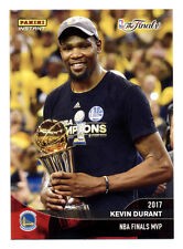 2016-17 PANINI INSTANT WARRIORS CHAMPIONS KEVIN DURANT 2017 NBA FINALS MVP! QTY