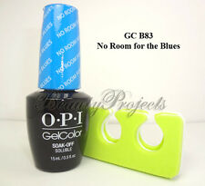 OPI GelColor No Room for the Blues GC B83 Soak Off LED/UV Gel .5oz +bonus NEW!