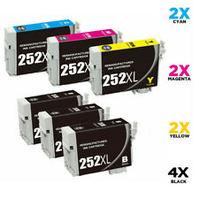 252xl Generic Ink Cartridge 252XL For Epson WF3620 WF3640 WF7110 WF7610 WF7620