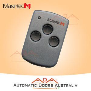 Marantec D313 Orignal 3 button garage transmitter remote control Genuine