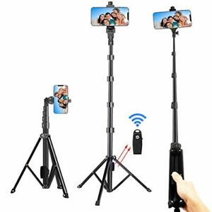 "Selfie Stick Tripod, Extra Long 54 ""Extendable Tripode Soporte Camara Tripode"