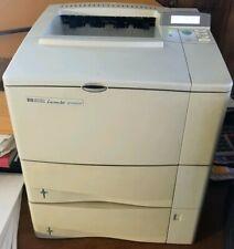 HP LASERJET 4100DTN C8052A PRINTER 2 TRAYS DUPLEX TONER