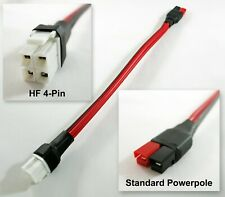 10 Hf 4 Pin 45 Amp 12 Volt Power Adapter Fits Anderson Powerpole Connector Ham