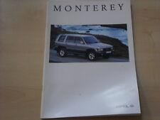 52789) Opel Monterey Prospekt 08/1995