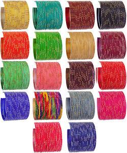 Indian Jewelry Bangles Set Metal Bangle Bracelet Ethnic Bollywood Wedding Bangle
