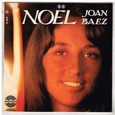 """Joan BAEZ   """"NOEL""""  Cantique de Noël   avec languette    7"""" EP 45 tours"""
