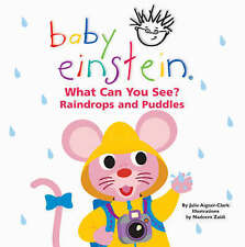 (Good)-What Can You See? Raindrops and Puddles (Baby Einstein) (Board book)-Aign
