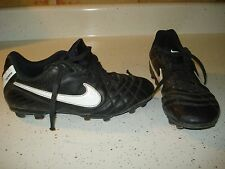 Nike JR Tiempo Natural IV FG Boys Soccer Cleats Shoes Size 4 Y L@@K !!!