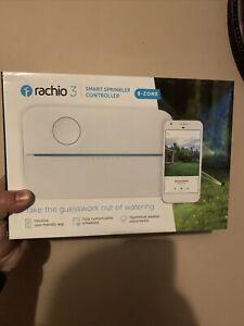Rachio 3 8ZULW-C 3rd Generation 8 Zone Smart Water Sprinkler Controller 8-Zone
