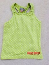Girls Lime Heart Pattern Sleeveless Vest Top Age 3-4 Years from M&S