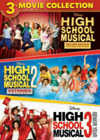 High School Musical 3-Movie Collection (2019, DVD NUOVO) (REGIONE 1)
