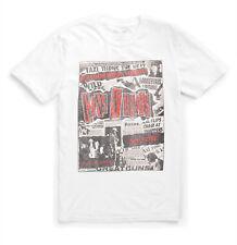 Lucky Brand - Men's XXL - NWT - White Guns n' Roses Punk Poster Cotton Tee