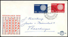 Netherlands 1970 Europa FDC First Day Cover #C27438