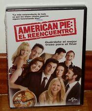 AMERICAN PIE : EL REENCUENTRO  - DVD - PRECINTADO - NUEVO - COMEDIA - PARTE 8º