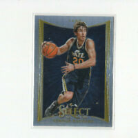 2012/13 Panini Select Silver Prizm Gordon Hayward Parallel Card 1st year Select