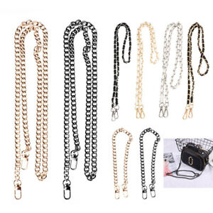 Metal with Buckles Bag Chain Strap Replacement DIY Handbags Clutches Purse Bags