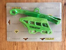 KAWASAKI KXF 450 2016-2018 BLOQUE Cadena Guía Enganche Slide Set Kit Verde