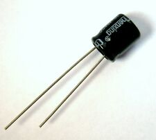 Condensateur électrolytique 16V 220uF Aluminium Radial Electrolytic Capacitor