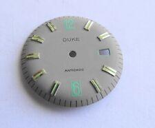 Piece Watchmaking Watch Dial Curved Grey Matt Reciprocating Diameter 1 5/32in