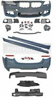 BMW F10 5 series M-Sport bodykit bumpers set sideskirts sport m-tech m package