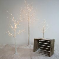 LED Light Up Pre Lit Birch Twig Tree Decoration | Indoor Home Nordic Christmas