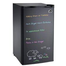 Refurbished IGLOO 3.2 cu ft Eraser Board Mini Fridge Refrigerator, Black - FR326