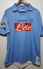 Maglia calcio Napoli Diadora vintage shirt camiseta soccer Napoli Nr7 Lavezzi