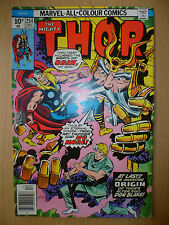 THE MIGHTY THOR Marvel Comics, DECEMBER 1976 Issue, Vol.1, No.254