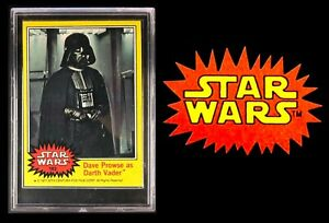 1977 Star Wars #183 * Dave Prowse as Darth Vader * Series 3 * NM Condition *