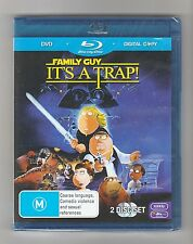 Family Guy It's A Trap Blu Ray + DVD - Brand New & Sealed