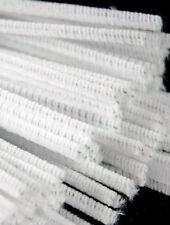 Limpiadores De Pipa regular blanco. paquete De 100. CT4061 (150 Mm x 4 Mm)