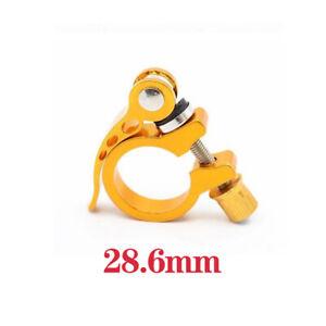 25.4/28.6/30.2/31.8/34.9mm Alloy Bike Seat Clamp Aluminium Quick Release Moun Y1