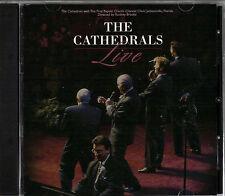 "THE CATHEDRALS..""LIVE""..""FROM JACKSONVILLE FLORIDA""...OOP LIVE GOSPEL CONCERT CD"