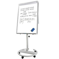 Mobile Magnetic Dry Erase Board / Whiteboard, 36 X 25 Inches, Silver Aluminium