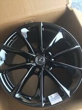 "20"" Lexus LC500 2018 forged staggered OEM BLACK CHROME PVD wheels rims WITH CAPS"