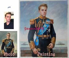 Custom Oil Portrait,Hand Painted Oil Painting,Royal Portrait,12x16 inches