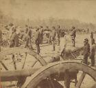 CIVIL WAR VIEW. FT. SUMNER 1862.  VINTAGE ORIGINAL STEREOVIEW.