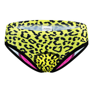 Women Cycling Triangle Briefs Breathable Quick-drying Gel Pad Tummy Tuck Briefs