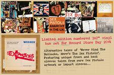 "NEU RSD 7 x 7"" VINYL BOX SET SEX PISTOLS Alternative Never Mind Record Store Day"