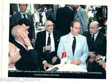 Photo originale Monaco Prince Albert - Naple 1997 ( 152 )
