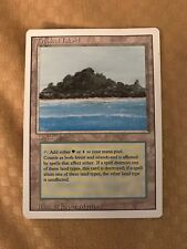 Magic the Gathering, Tropical Island card. MTG, Revised  Edition, Dual Land