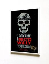 OFFICIAL THE GOONIES ONE-EYED WILLY TREASURE HUNT MAGNET - ASTORIA OREGON PROMO
