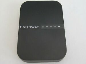 RAVPOWER FileHub Travel Router and Wireless SD Card Reader RP-WD009, No Cable