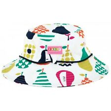 Large Wide-Brim Hat (2-8 Year Old) Penny Scallan Pear Design Brand New In Bag