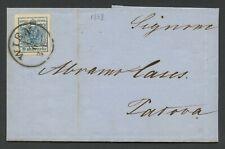 VIA DI MARE-Levante austriaco-Lettera da Vienna a Padova-1 GIUGNO 1858